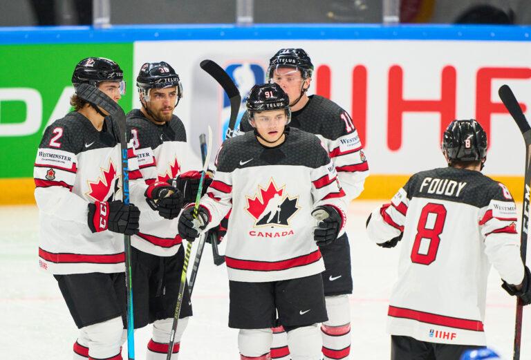 Cole Perfetti Canada 2021 IIHF Ice Hockey World Championship