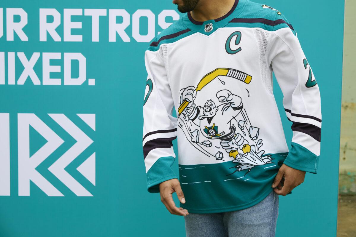 Anaheim Ducks Reverse Retro jersey
