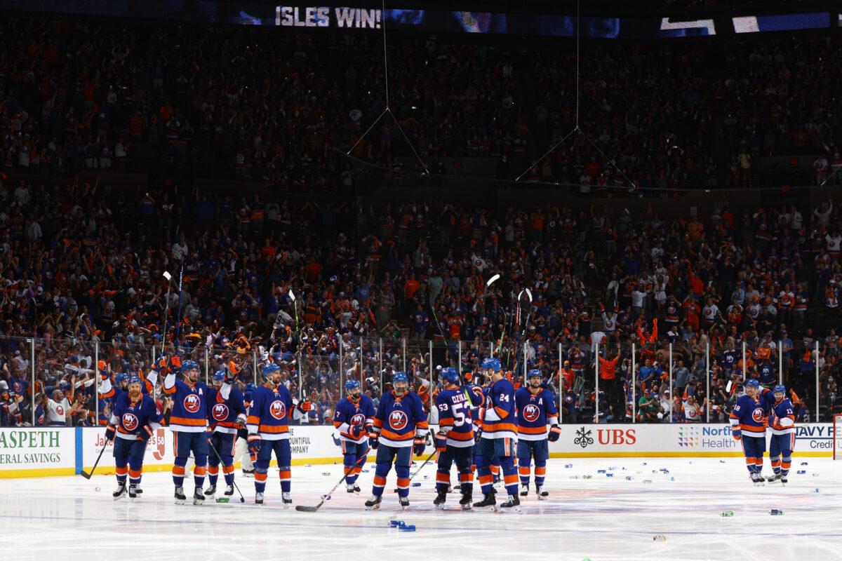 New York Islanders Anthony Beauvillier Nassau Coliseum