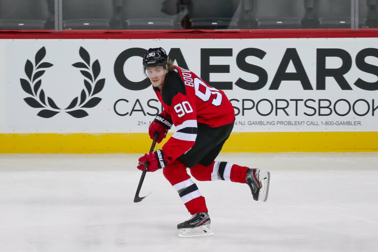 Jesper Boqvist New Jersey Devils
