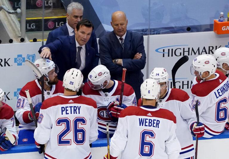 Montreal Canadiens Luke Richardson Claude Julien Dominique Ducharmes
