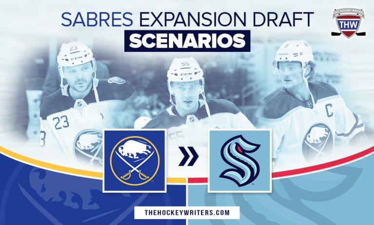 Buffalo Sabres Expansion Draft Scenarios Eichel, Reinhart, Ristolainen Seattle Kraken