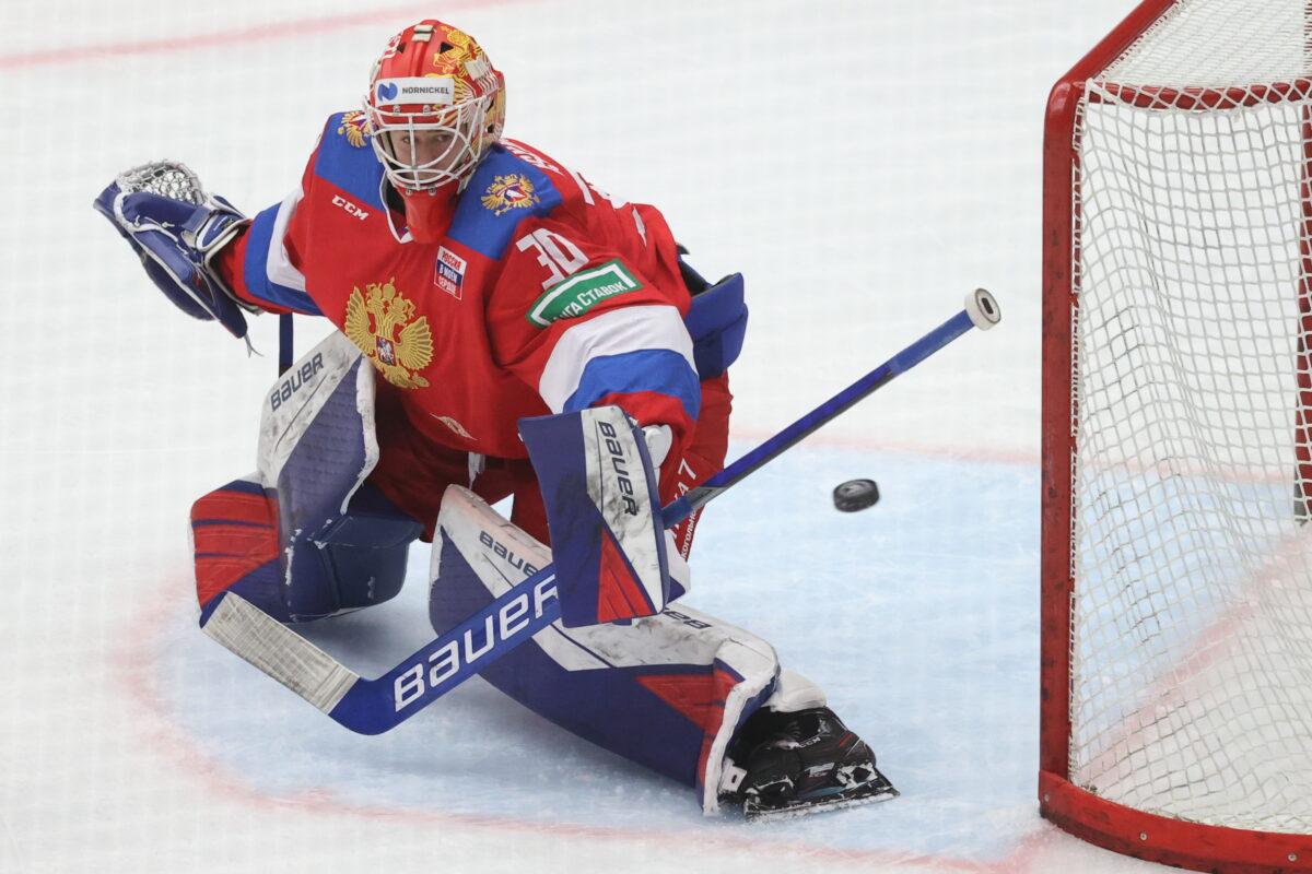 Team Russia Yaroslav Askarov