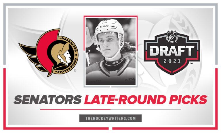 Ottawa Senators Late-Round Picks 2021 Ben Roger