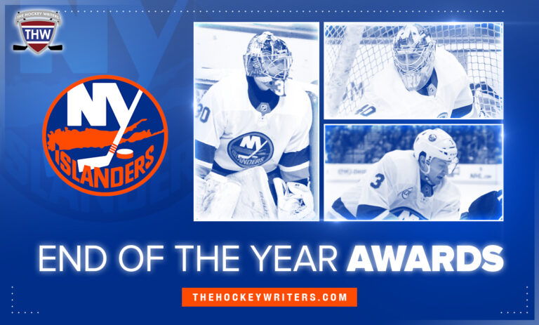 New York Islanders End of the Year Awards Varlamov, Pelech Sorokin