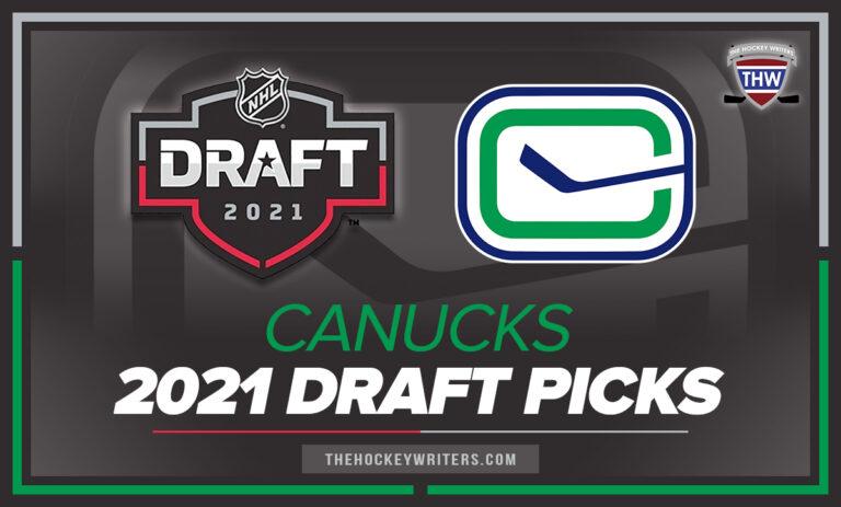 Vancouver Canucks 2021 Draft Picks 2021 Entry Draft