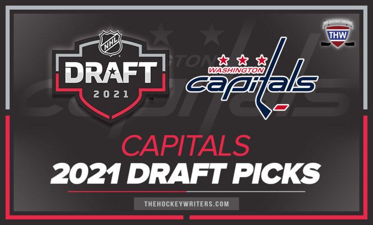 Washington Capitals 2021 Draft Picks 2021 Entry Draft