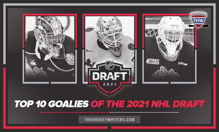 The Top 10 Goaltenders of the 2021 NHL Draft Cossa, Wallstedt and Gaudreau