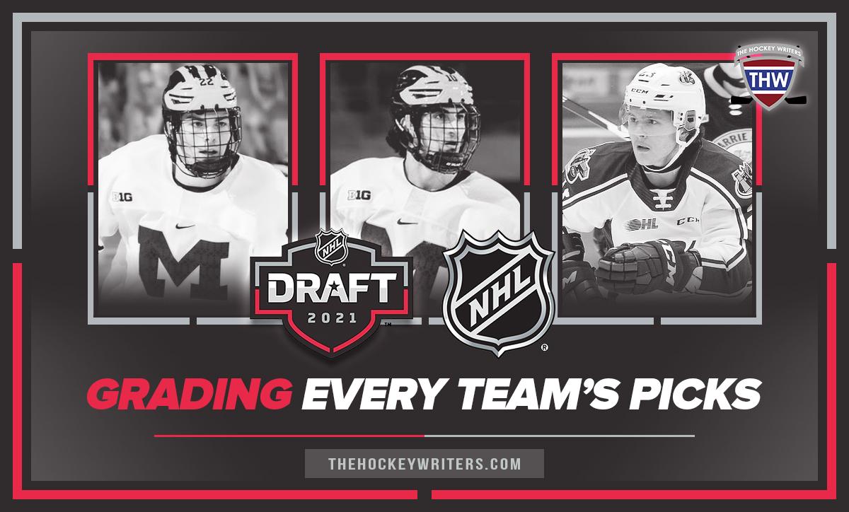 2021 NHL Draft Grading Every team's picks Owen Power, Matt Beniers and Mason McTavish