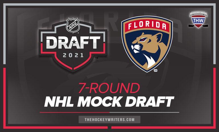 Florida Panthers 7-Round NHL Mock Draft 2021