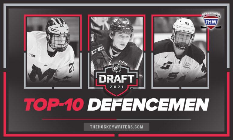 Top-10 defencemen NHL 2021 Entry Draft Owen Power, Luke Hughes and Brandt Clarke