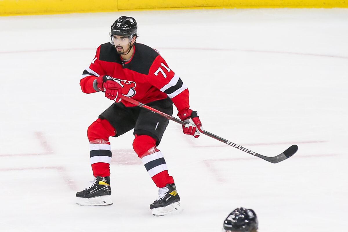 Jonas Siegenthaler New Jersey Devils
