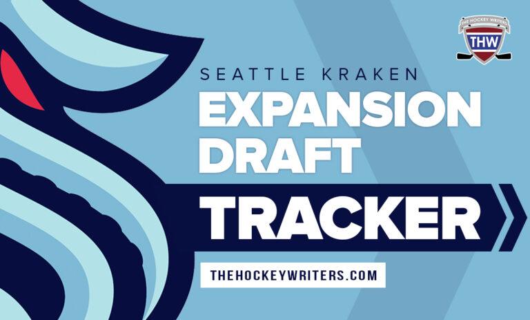 Seattle Kraken Expansion Draft Tracker