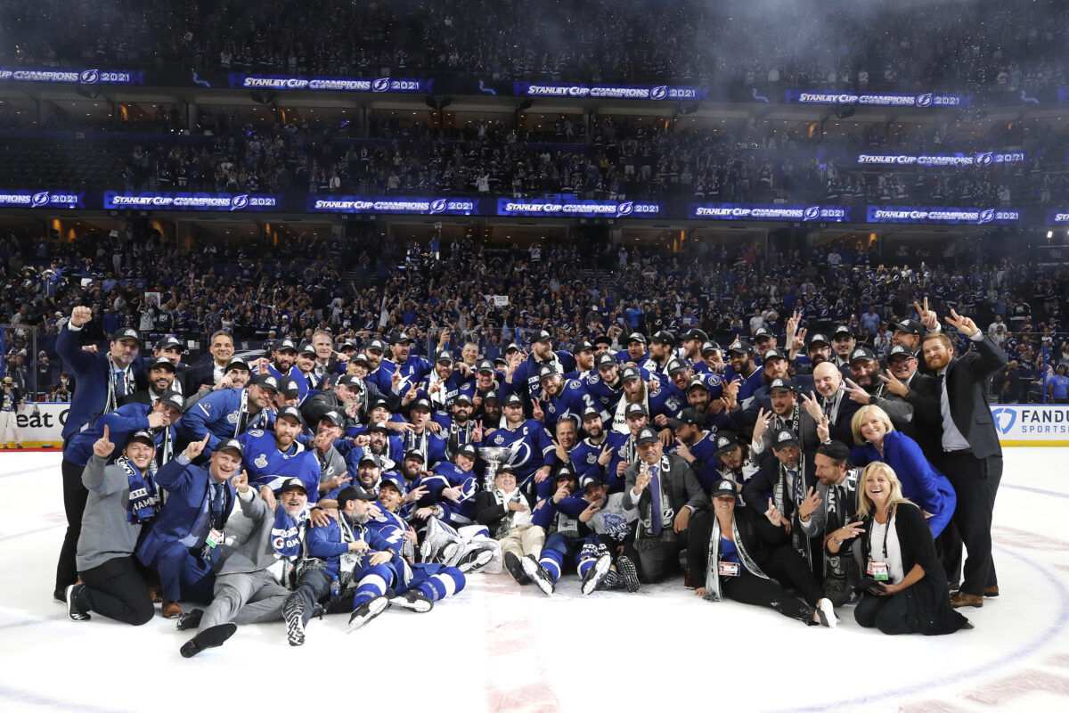 Tampa Bay Lightning 2021 Stanley Cup Champions