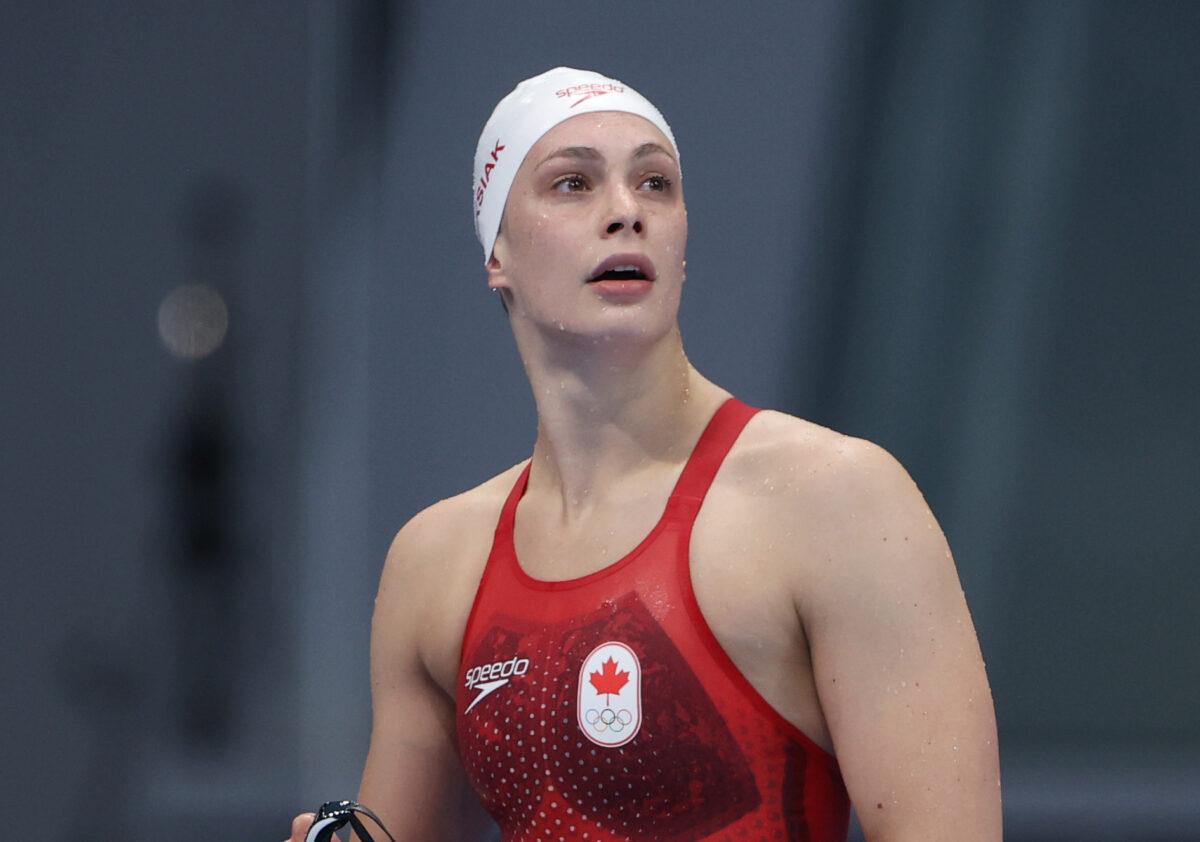 Penny Oleksiak Team Canada Tokyo Olympics 2020