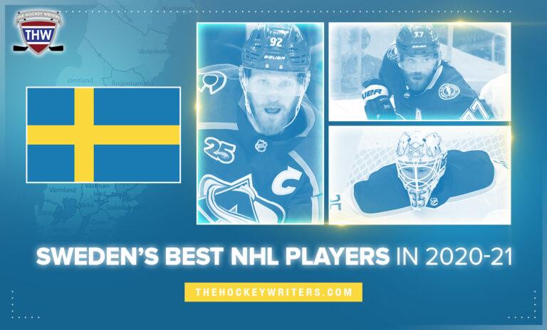 Landerskog, Hedman, Ullmark Sweden's Best NHL Players in 2020-21
