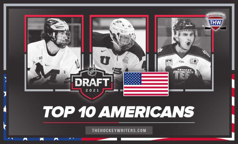 Top 10 Americans of the 2021 NHL Draft Beniers, Luke Hughes, and Coronato