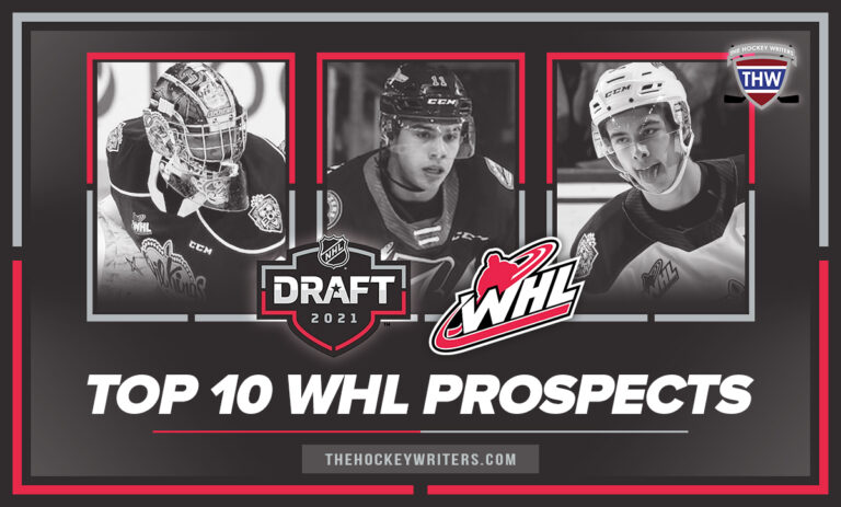 Top-10 WHL Prospects of the 2021 NHL Draft featuring Guenther, Cossa, and Stankoven