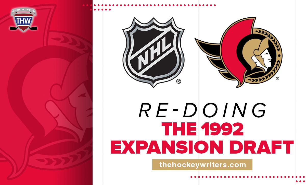 Re-Doing the Ottawa Senators' 1992 Expansion Draft