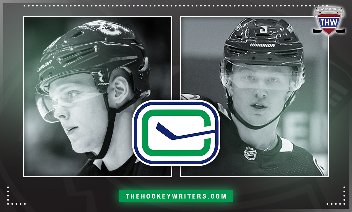 Olli Juolevi and Jack Rathbone The race for the final defence spot Vancouver Canucks