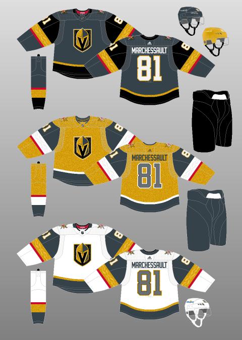 Vegas Golden Knights sweaters 2021