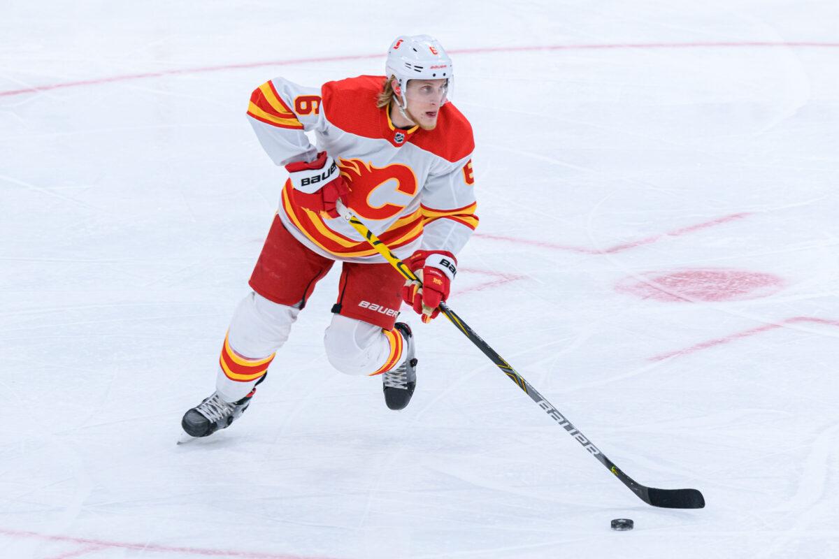 Juuso Valimaki, Calgary Flames