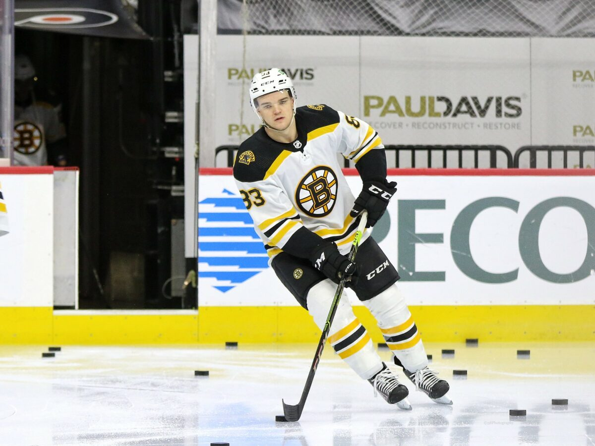 Karson Kuhlman, Boston Bruins