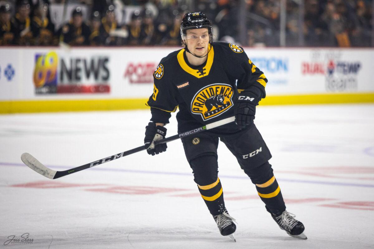 Oskar Steen, Providence Bruins