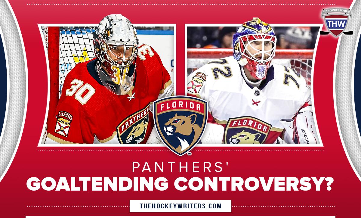 Florida Panthers Goaltending Controversy Spencer Knight Sergei Bobrovsky