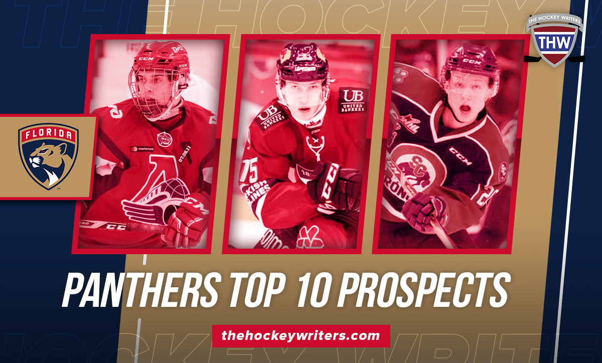 Florida Panthers Top 10 Prospects Grigori Denisenko, Anton Lundell, and Aleski Heponiemi