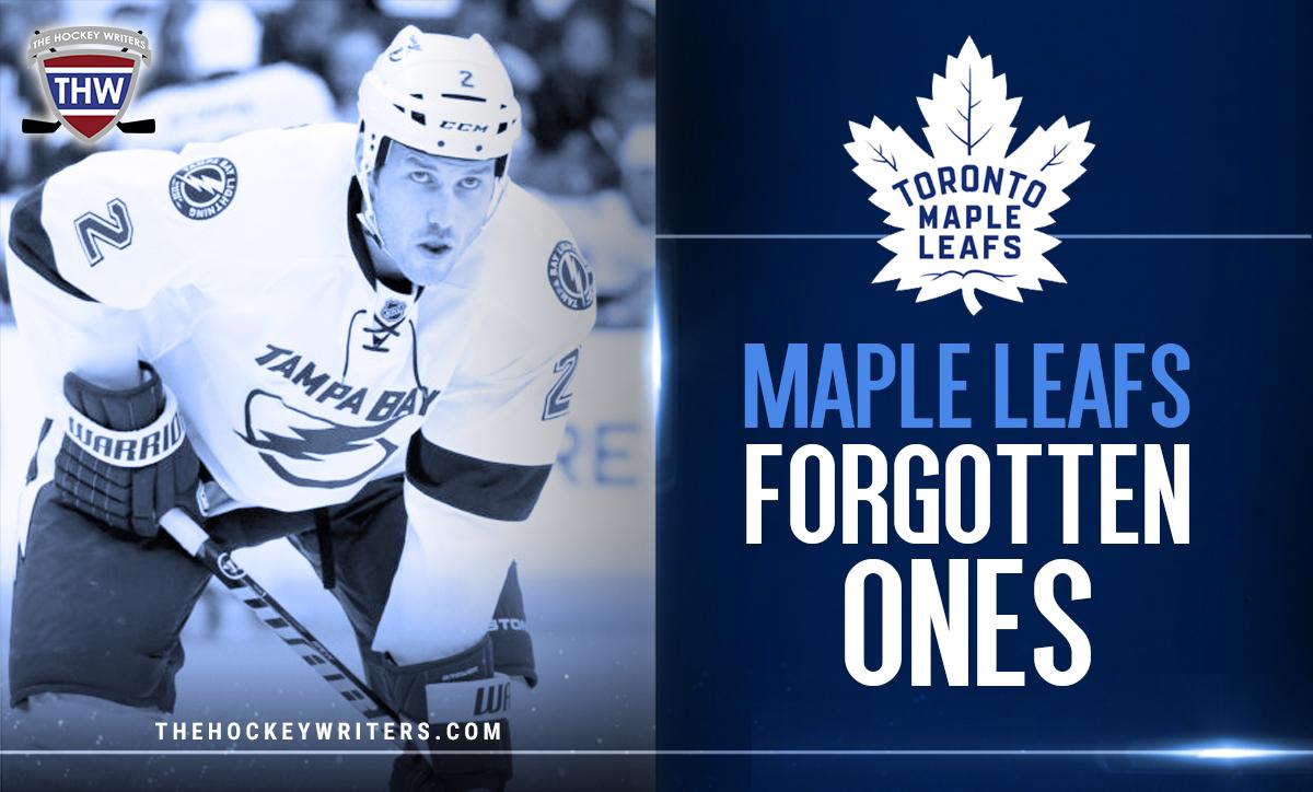 Toronto Maple Leafs Forgotten Ones Eric Brewer