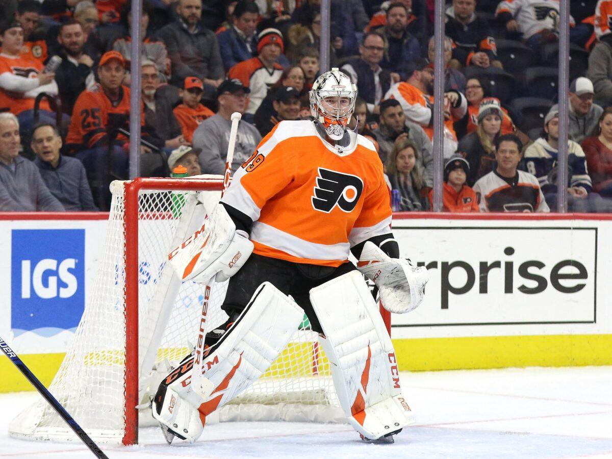 Carter Hart, Philadelphia Flyers