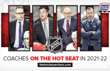 Paul Maurice, Bob Boughner, Jeff Blashill and Alain Vigneault Coaches on the Hot Seat in 2021-22