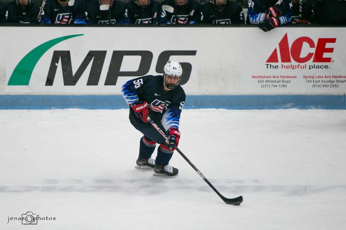 Dylan Duke, USA NTDP U17 Team