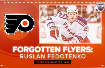 Forgotten Philadelphia Flyers: Ruslan Fedotenko