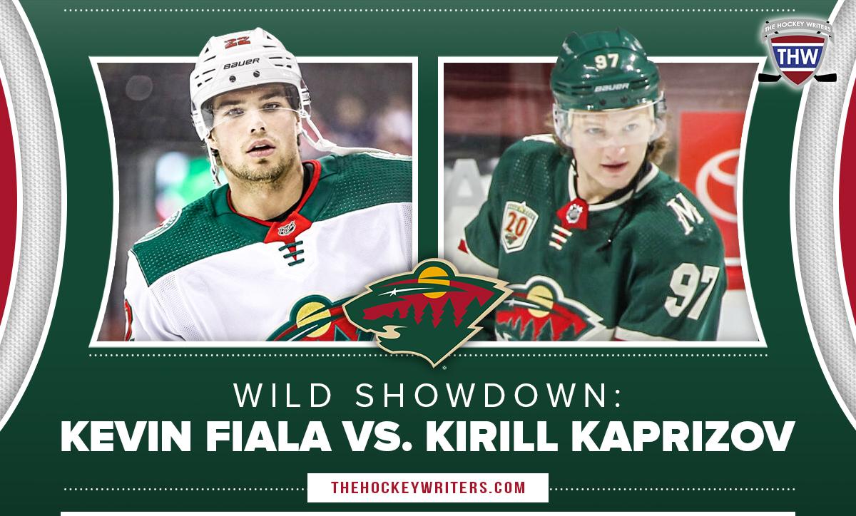 Minnesota Wild showdown Kevin Fiala vs. Kirill Kaprizov