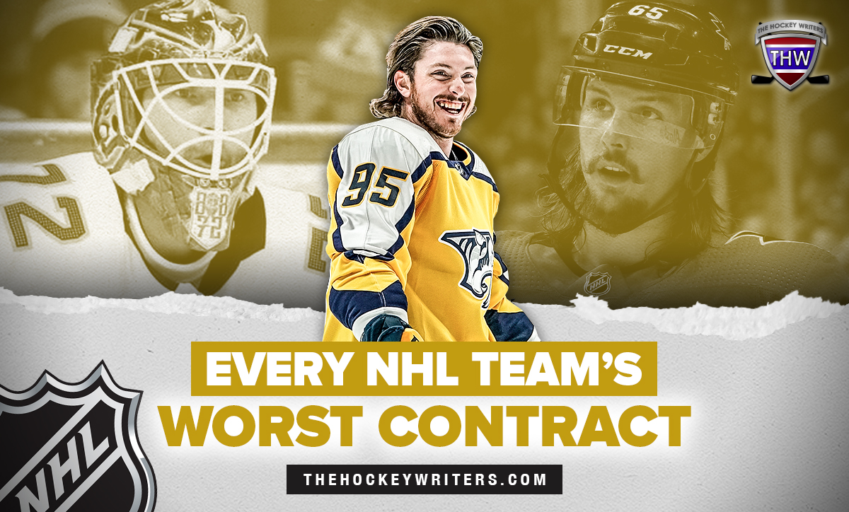 Sergei Bobrovsky, Matt Duchene, Erik Karlsson Every NHL Teams's Worst Contract