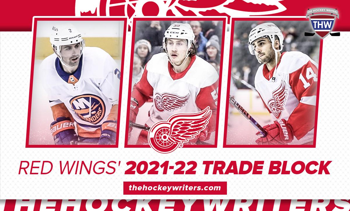 Detroit Red Wings' 2021-22 Trade Block Robby Fabbri, Tyler Bertuzzi & Nick Leddy
