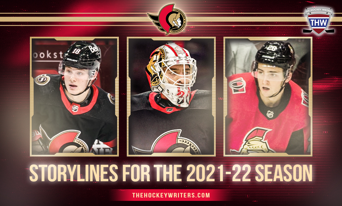 Ottawa Senators Matt Murray, Erik Brannstrom and Tim Stutzle Storylines for the 2021-22 Season