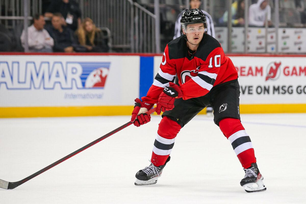Alexander Holtz, New Jersey Devils