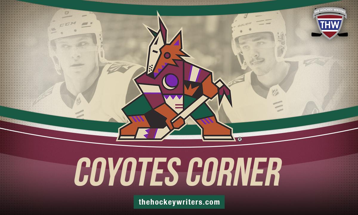 Arizona Coyotes Corner Jakob Chychrun & Clayton Keller