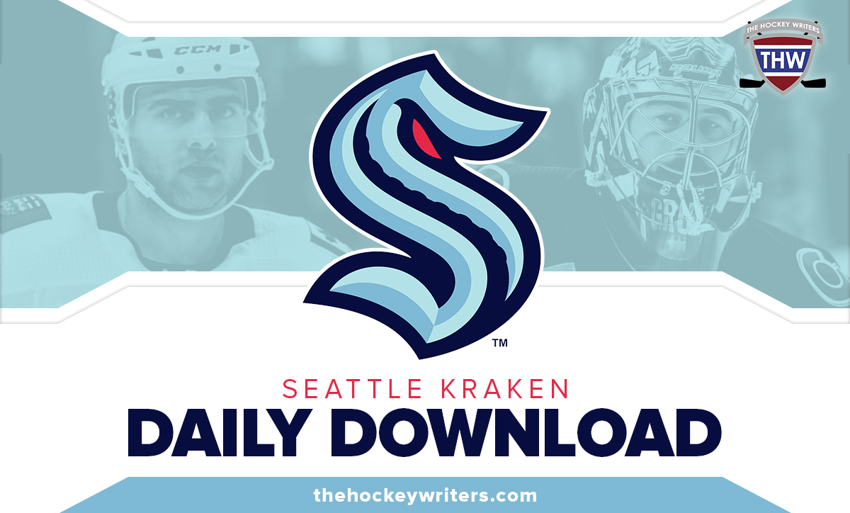 Daily Download Seattle Kraken Mark Giordano and Philip Grubauer