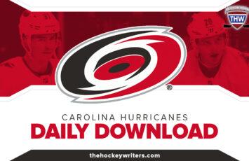 Carolina Hurricanes Daily Download Sebastian Aho Andrei Svechnikov