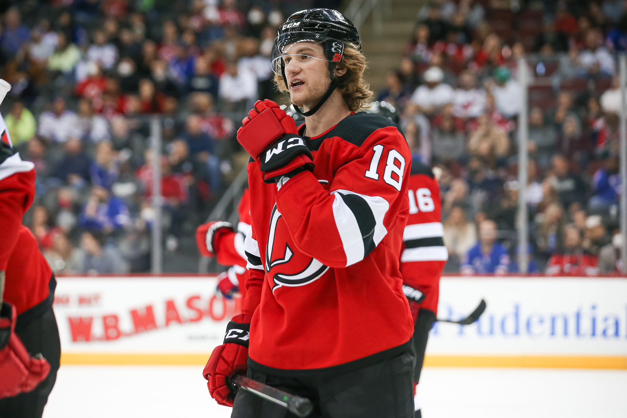 Devils' Dawson Mercer Having an Impact on & off the Ice