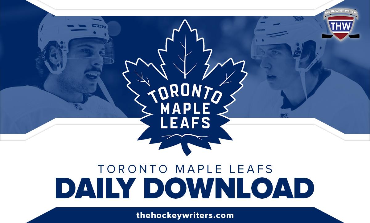 Toronto Maple Leafs Daily Download Auston Matthews Mitch Marner