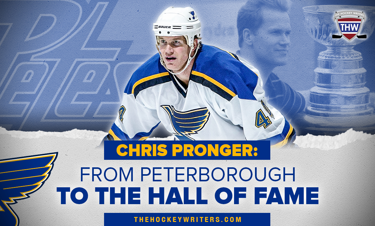 Chris Pronger: From Peterborough to the Hall of Fame