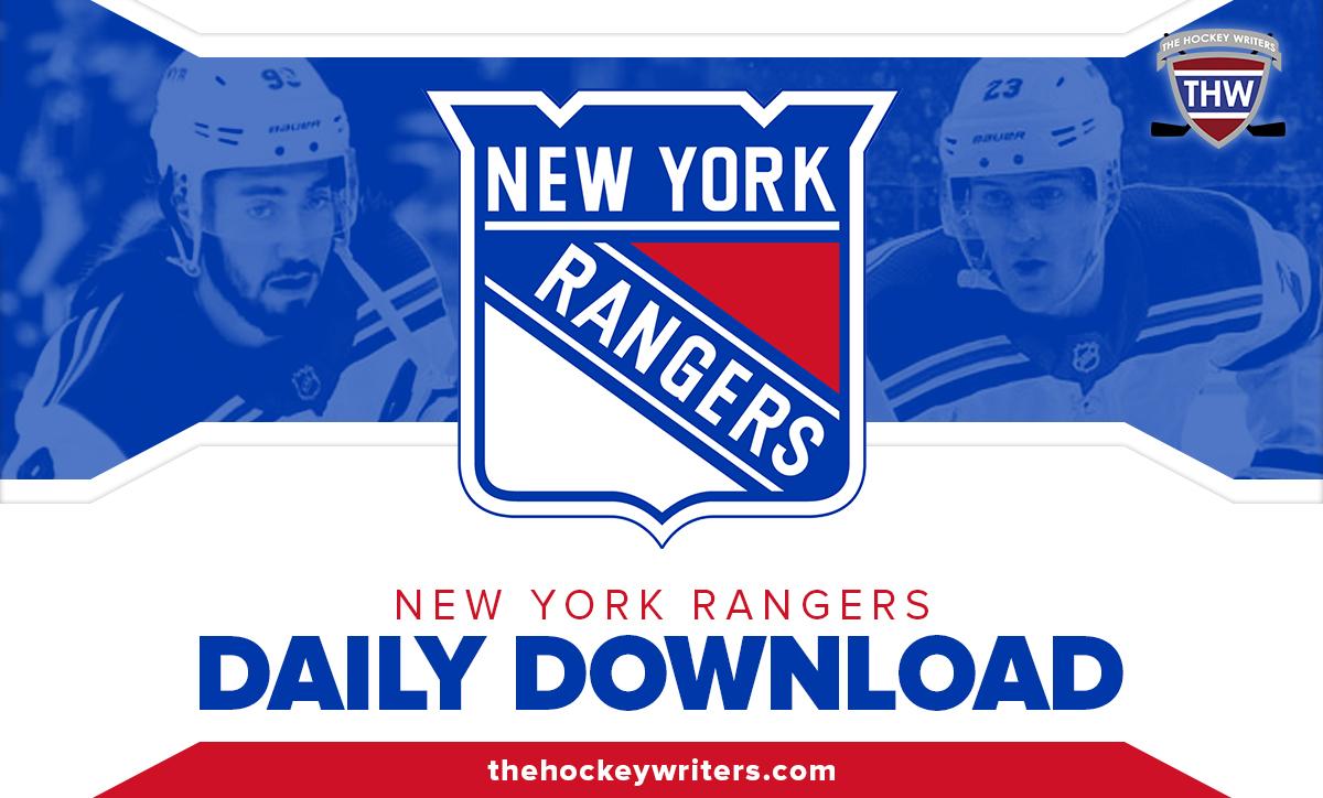Daily Download New York Rangers Adam Fox and Mika Zibanejad
